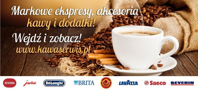 Ekspresy do kawy - autoryzowany serwis i sklep firmowy - www.kawaserwis.pl