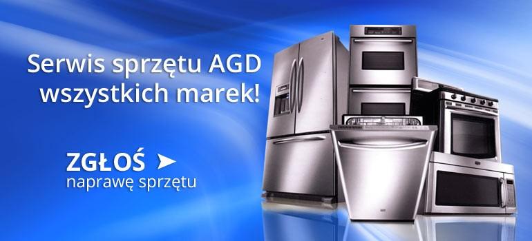Serwis sprzętu AGD wszystkich marek!